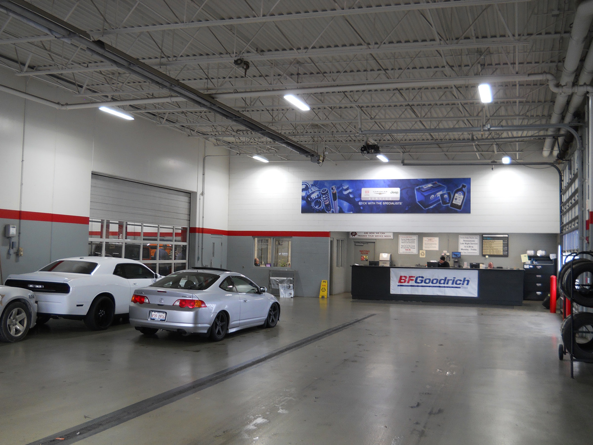 Gurnee Dodge LED High Bay Installation