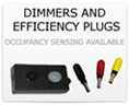 LED Lighting Dimmers and Efficiency Plugs