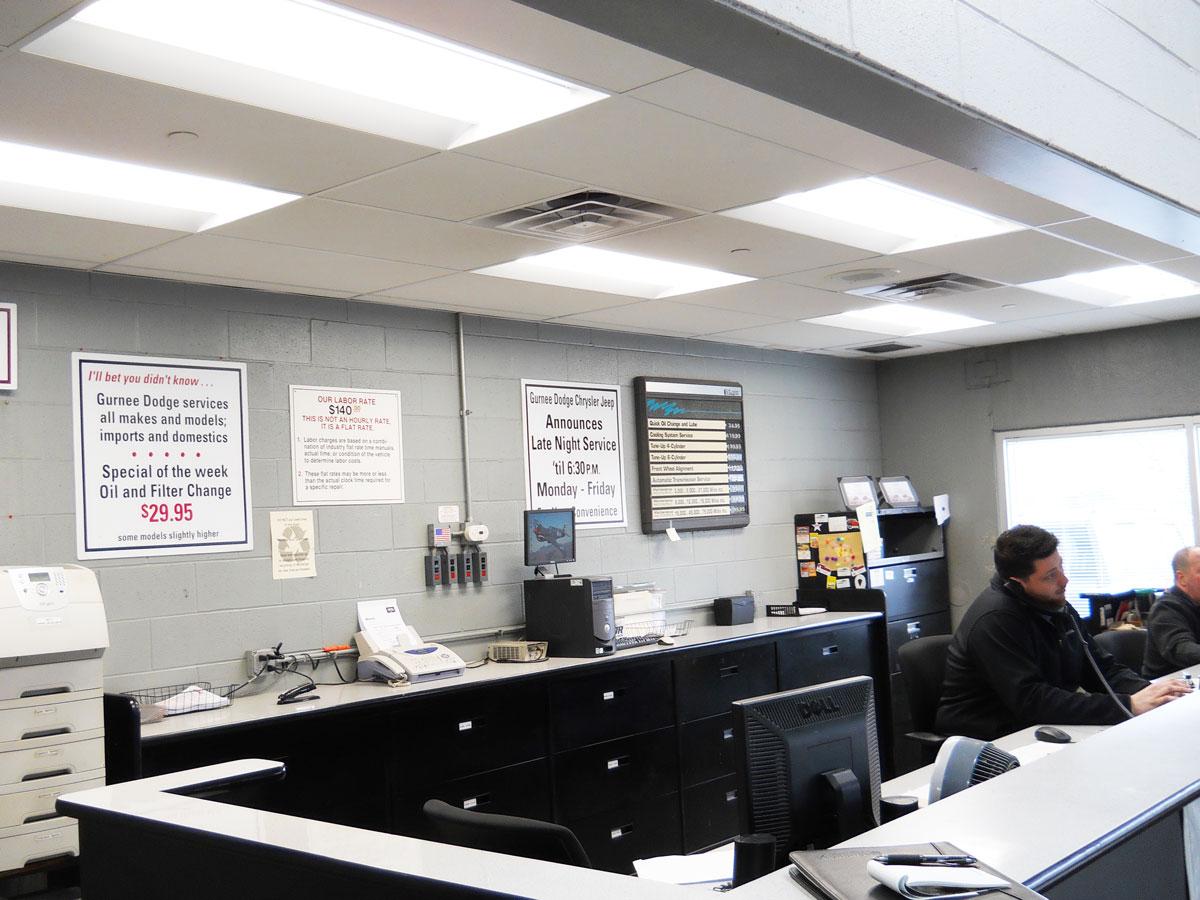 Gurnee Dodge Office Installation