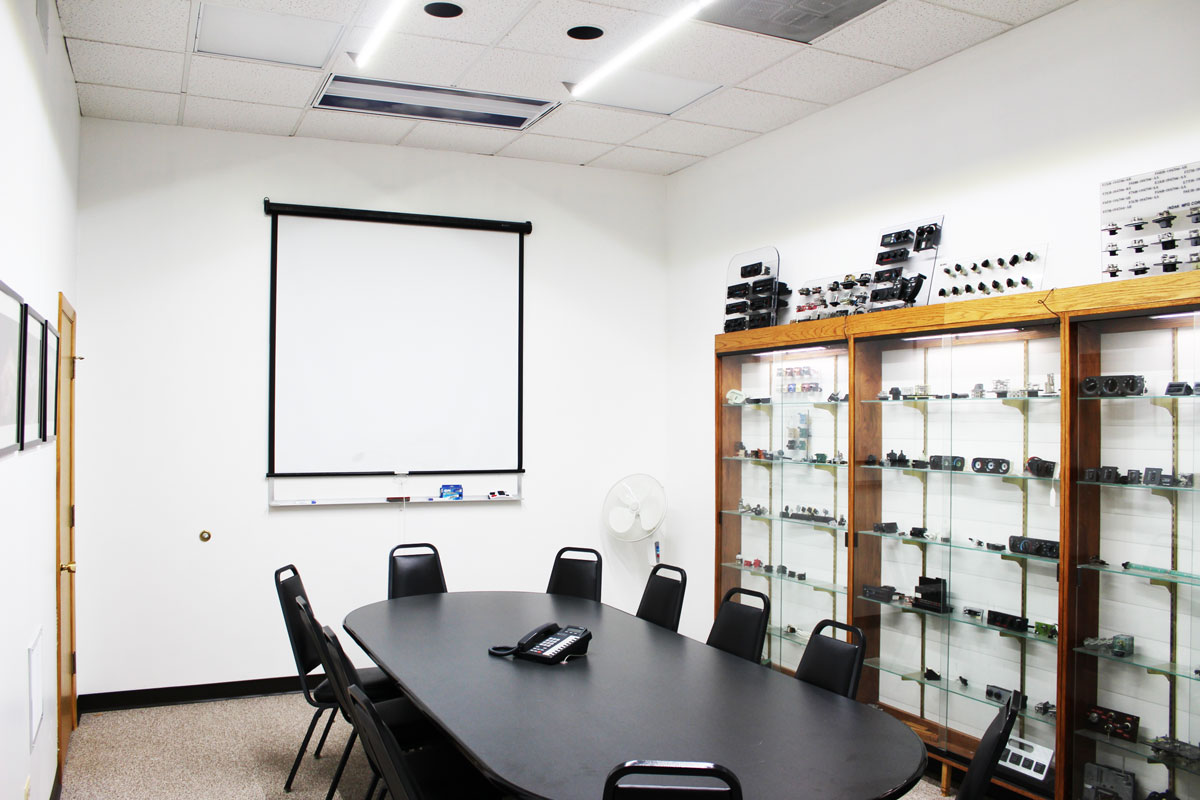 LED Light Bar Conference Room Installation