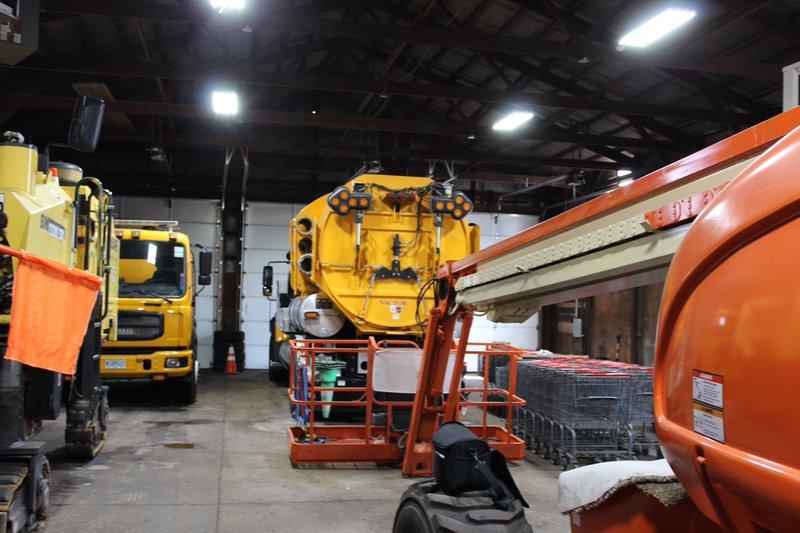 LED High Bay Installation - Garage